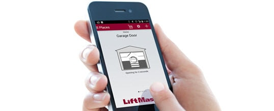 Operate your automatic garage door with Lift Master's Smart phone app