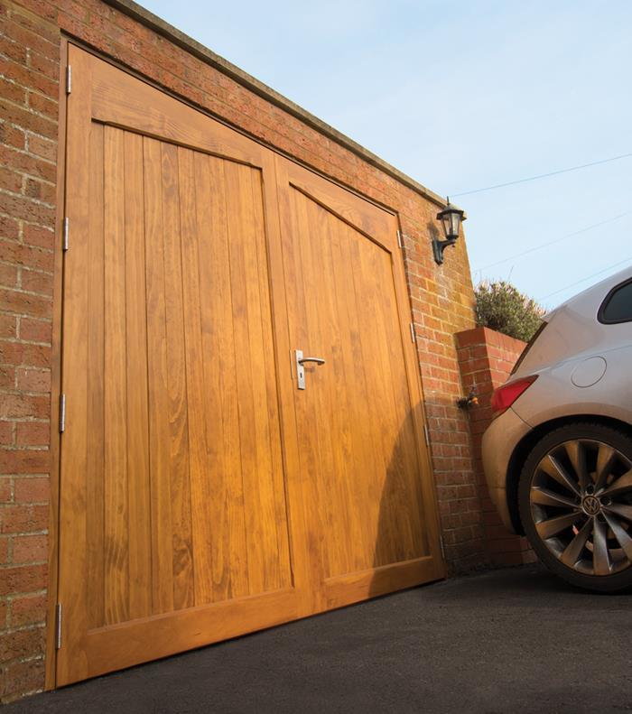 Accoya Is Perhaps The Perfect Material For Garage Doors