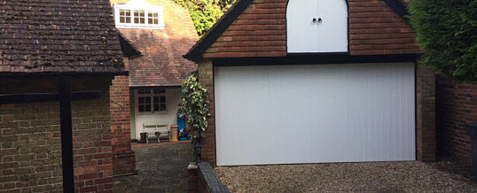One of our customers is delighted with their 'Beautiful new garage door'…
