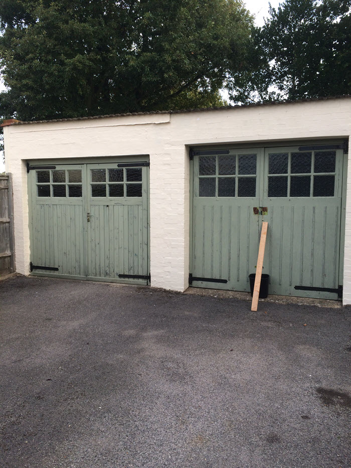 Some Before And After Garage Door Installation Images