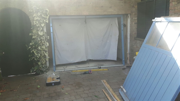 Carteck Insulated Side Hinged Garage Door In Special Ral