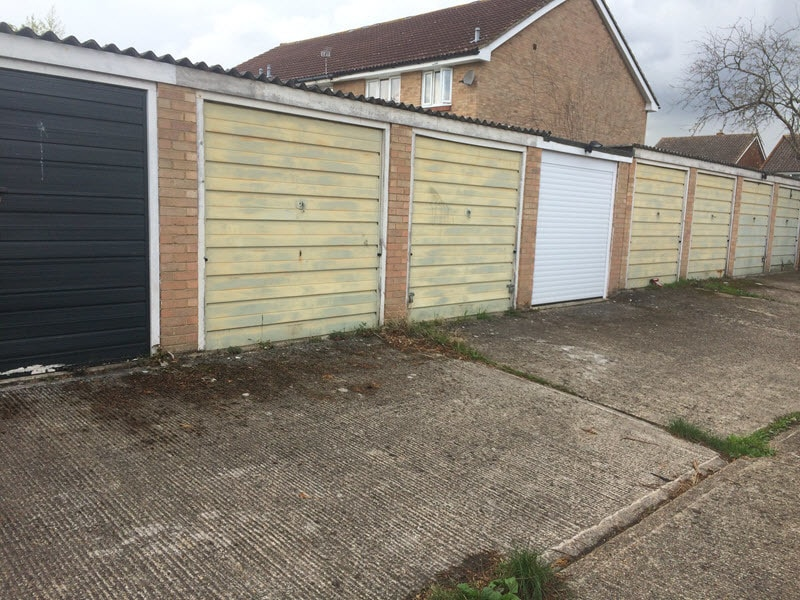 Spot the difference - garage doors