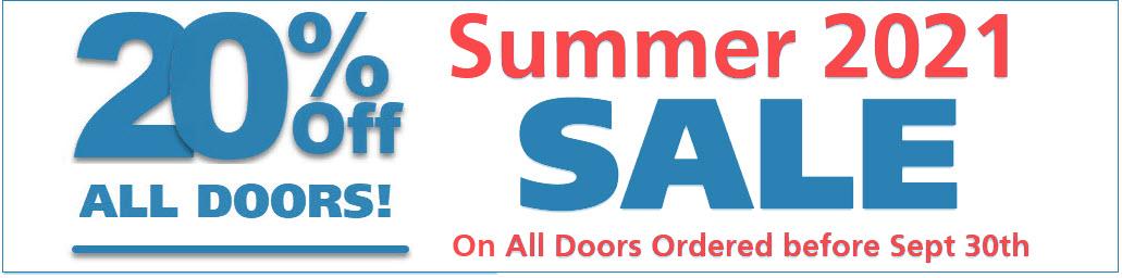 Garage Door Discount Price - Summer 2021