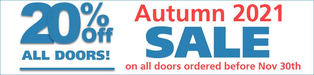 Garage Door Discount Price Autumn, 2021
